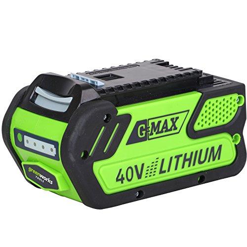 Greenworks G40B4 - Batería de 40 V para herramientas de jardín (4 Ah)