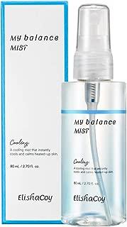 [EC ELISHACOY] My Cooling Balance Mist 80ml (2.71 fl.oz.) - Long Lasting Cooling & Soothing Facial Mist, Aloe Leaf Extract, Calms Heated up Skin
