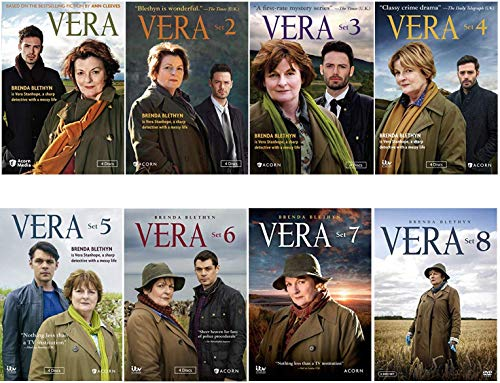 Vera Complete Series DVD Season 1-9