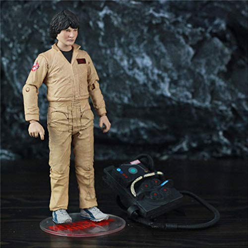 QWYU Stranger Things Eleven Will Lucas Mike Dustin 7' Action Figure From Mcfarlane Toys Tv Netflix Series Doll Collectible MIKE