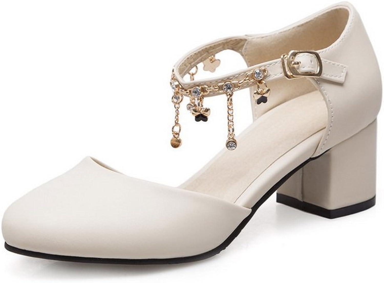 AdeeSu Womens Non-Marking Waterproof Cold Lining Urethane Sandals SLC03911