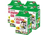 Fujifilm Instax Mini Lot de 5 Paquets de 20 Films pour Instax Mini 8, Mini 90