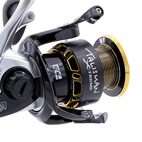 TiCA Talisman X-Treme, Tbat 4000 Carrete de Pesca, Color Negro, Dorado, Gear...