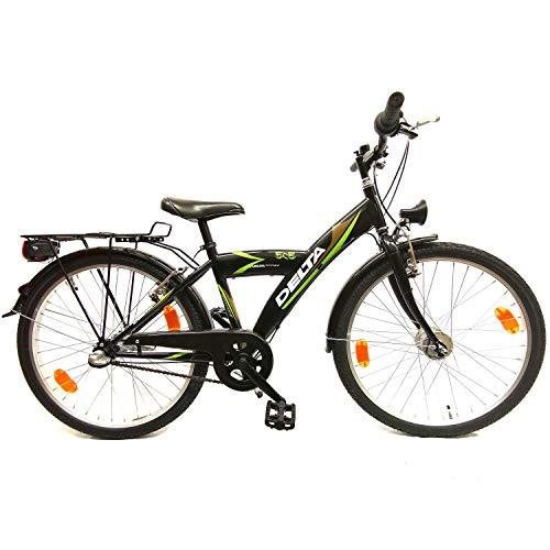 Delta Bike 24 Zoll Cityfahrrad 3 Gang Nabenschaltung Rücktritt Nabendynamo STVO G36