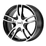 American Racing 14' Inch 5x3.94/4.5 Wheel Rim AR919 14x6 +35mm Black Machined