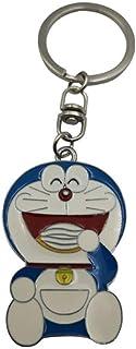 ZSWDBDysq Aleación De Zinc Doraemon Llavero Pintura Creativa Anime Serie Llavero Ornamento