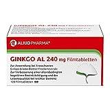 ALIUD PHARMA Ginkgo AL 240 mg, 120 Filmtabletten: Ginkgo-biloba-Blätter-Trockenextrakt, bei leichter Demenz