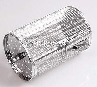 مسامير - فرن كهربائي من الفولاذ المقاوم للصدأ - قفص دوار قوي 12 × 18 سم من كاسوو