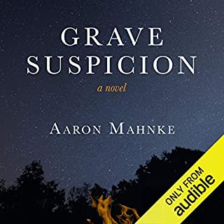 Grave Suspicion audiobook cover art