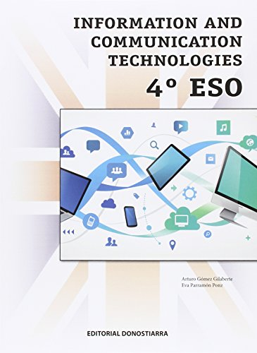 Information and communication technologies 4º ESO - 9788470635465