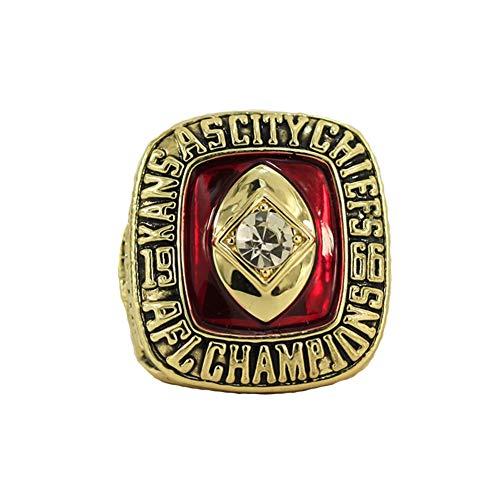 Fei Fei Rugby 1996 Championship Ring Anillos de Hombre, Championship Anillo de réplica Personalizado Anillos de Diamantes para Hombres,Without Box,11