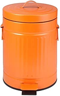 ZXJshyp Trash Can with Lid and Pedal Plastic Trash Bin with Inner Tub Bedroom Living Room Bathroom Office (Color: 3) (Colo...