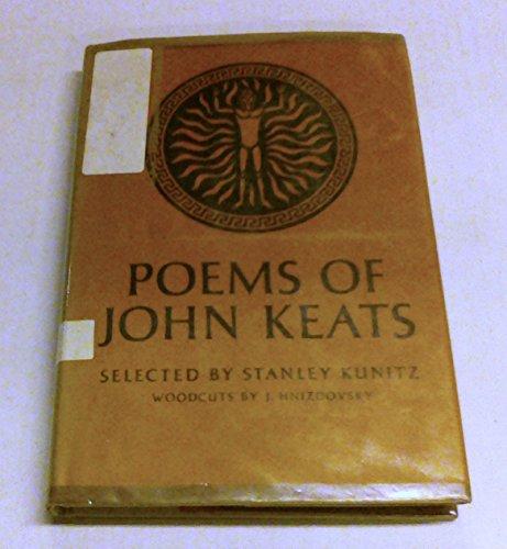 POEMS OF JOHN KEATS. Selected by Stanley Kunitz. Woodcuts by Jacques Hnizdovsky.