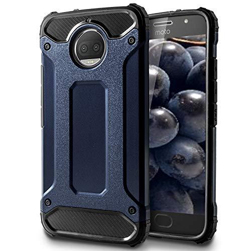 MyCase Funda Protectorapara Motorola Moto G5s Plus | TPU |en Azul | Anticaída
