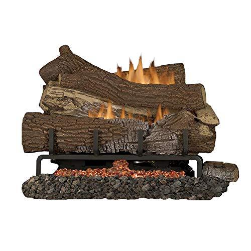 Best Bargain Superior Fireplaces MNF24 VF 24 NG Ember Bed Millivolt Burner w/ 24 Giant Timber Logs
