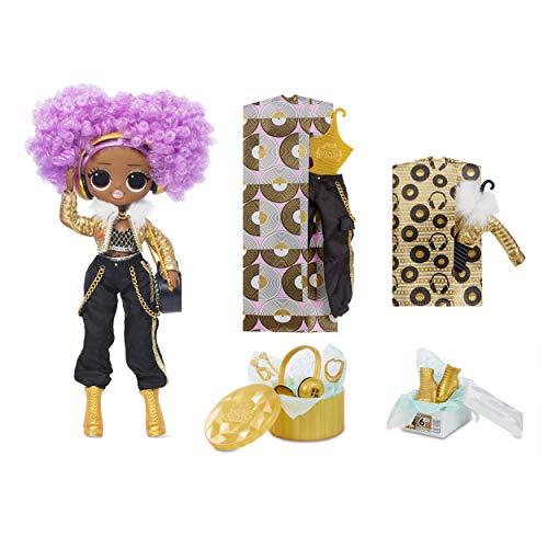LOL Surprise OMG 38 Doll- 24K DJ, 25 cm große bewegliche Fashion Puppe mit 20 Überraschungen