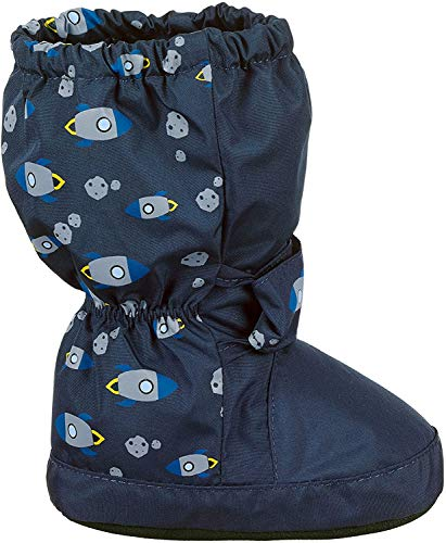 Sterntaler Baby Jungen Stiefel, Blau (Marine 300), 17/18 EU
