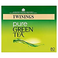 1パックトワイニング純粋な緑茶80 (x 6) - Twinings Pure Green Tea 80 per pack (Pack of 6) [並行輸入品]