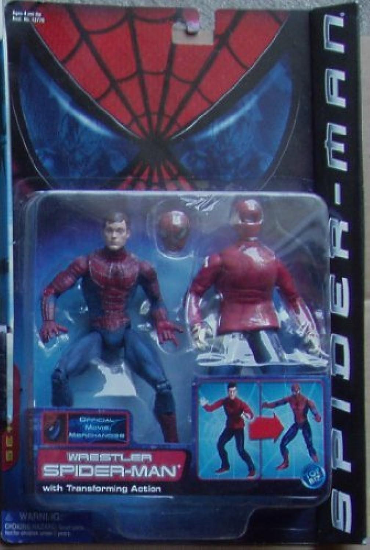 marca en liquidación de venta Spiderman Wrestler with Transofrming Transofrming Transofrming Acción Series 3 by Spider-Man  vendiendo bien en todo el mundo