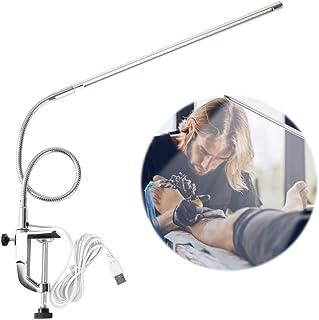 Lámpara de Lupa con Luz LED Lupa Lámpara de Escritorio con Abrazadera Lámpara de Lectura luz Lupa salón de Belleza Equipo de Belleza para la manicura del Tatuaje de la ceja