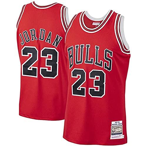 CYQQ Camiseta de Baloncesto Michael Jordan # 23 Chicago Bulls para Hombres, los fieles Seguidores(Size:S,Color:A2)