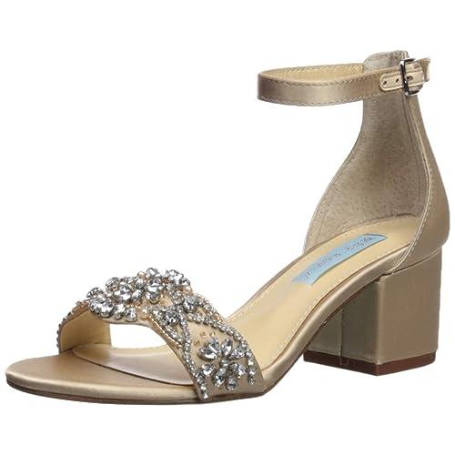 70b79a680dce Betsey Johnson Women s Sb-Mel Heeled Sandal