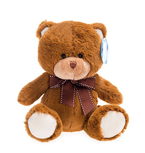 WILDREAM My First Teddy Bear Baby Stuffed Animal, 8 inches