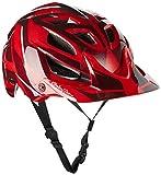 Troy Lee Designs Reflex A1 Adult Bike Sports BMX Helmet - Red/Medium/Large