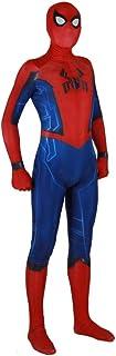 KYOKIM Costume Classique Spiderman Cosplay Halloween Spiderman Mascarade Adulte Enfant Party Supplies, Women, XXL