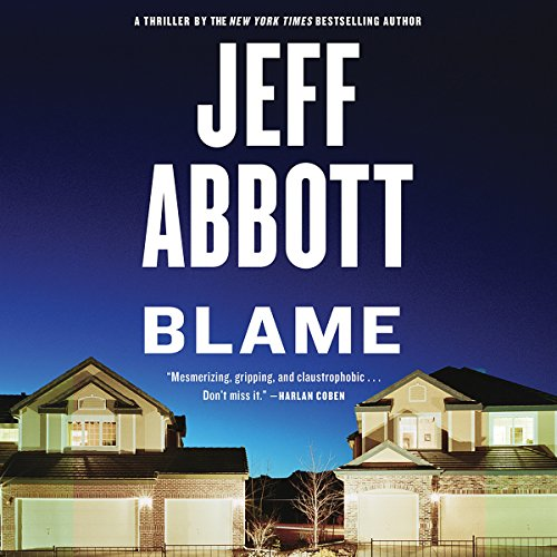 Blame audiobook cover art