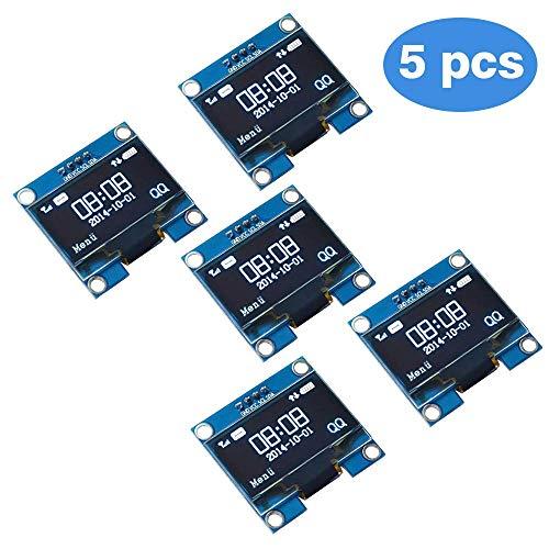 0,96 Zoll Arduino OLED Display SSD1306 Weiss 128x64 I2C//IIC Modul Raspberry