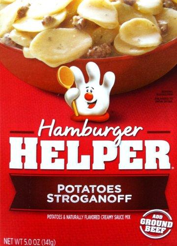Betty Crocker POTATOES STROGANOFF Hamburger Helper 5oz (2 Pack)