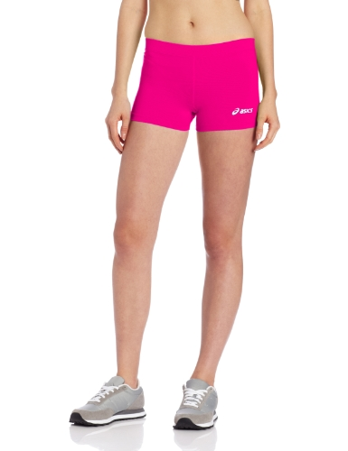 ASICS Damen Women's Low Cut Performance Shorts, Pink Glow, X-Small
