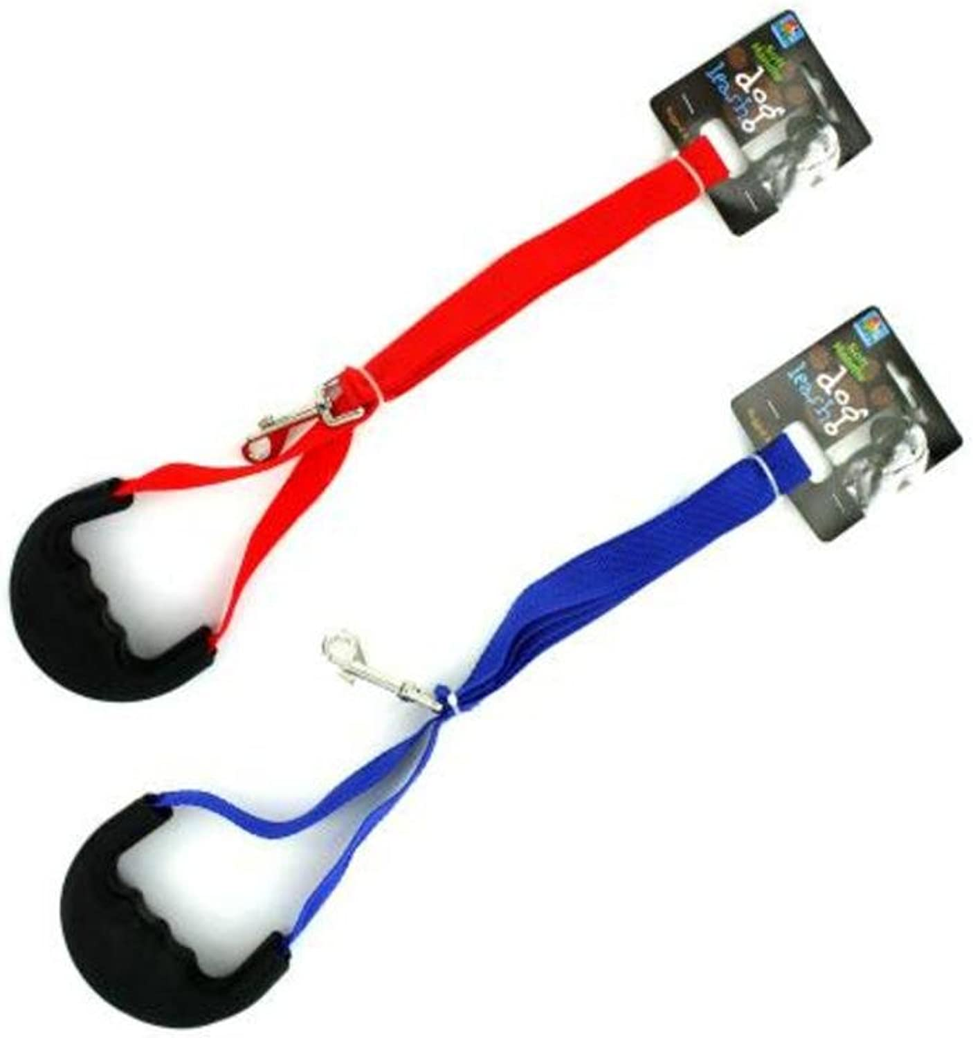 Dog Leash with Rubber HandlePackage Quantity,16