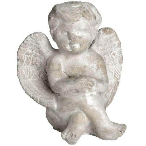Hill Interior Figur Engel sitzend mit überkreuzten Beinen
