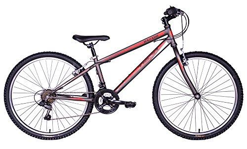 Tiger Hazard 26' x 13' Frame Youth/Teenager Mountain Bike - Gunmetal Grey