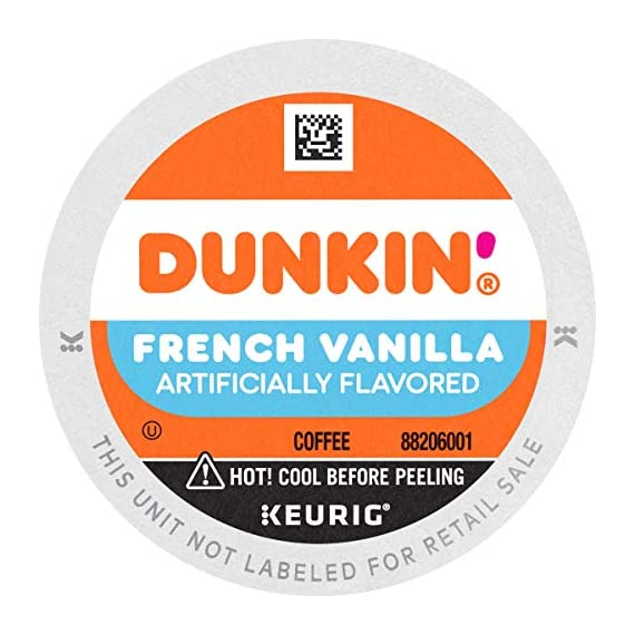 Dunkin' Best Sellers Coffee Variety Pack, 60 Keurig K-Cup Pods 3 Contains 4 boxes of 32 K-Cup pods (128 count total) Original Blend is the coffee that made Dunkin' famous, featuring a rich, smooth taste unmatched by others Medium roast coffee, specially blended and roasted to deliver the same great taste as the brewed Dunkin' coffee available in Dunkin' shops