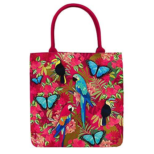 AMAZON LOVE Tote Bag Rojo