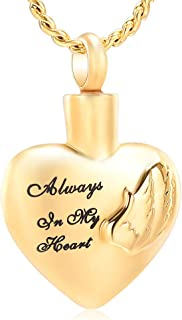 Cremation Jewelry for Ashes for Family Urn Necklace Pendants Ashes Keepsake Memorial Ash Jewelry for Loved Ones