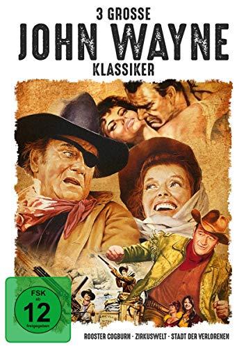 3 große John-Wayne-Klassiker [3 DVDs]