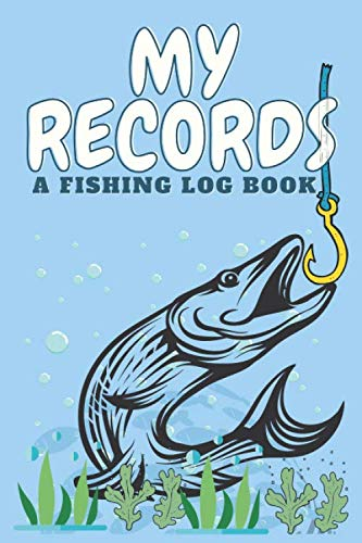 My Records - A Fishing Log Book: Freshwater or Saltwater, Fly-fishing or any method, Your biggest or smallest, Record all about your fishing details. ... Fishermen Essential logbook. Great gift!