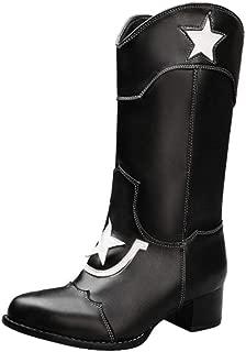 ELEEMEE Women Western Cowboy Boots Pull On