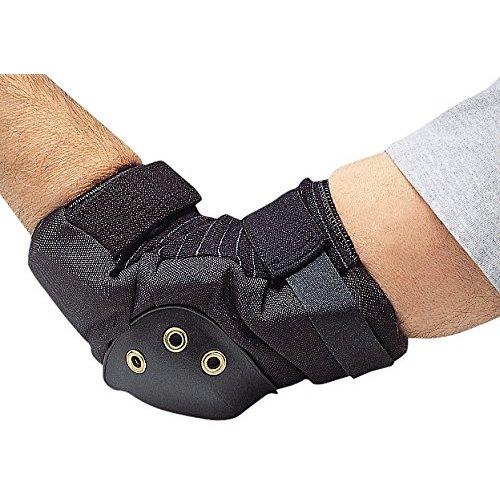 Allegro-7104 Elbow Pads, Hard, Nylon, Foam, Univ, PR, One size,Black