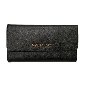 Michael Kors Women's Jet Set Travel Large Trifold Wallet 22