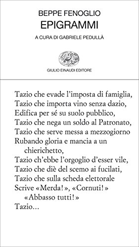 Epigrammi (Collezione di poesia Vol. 339)
