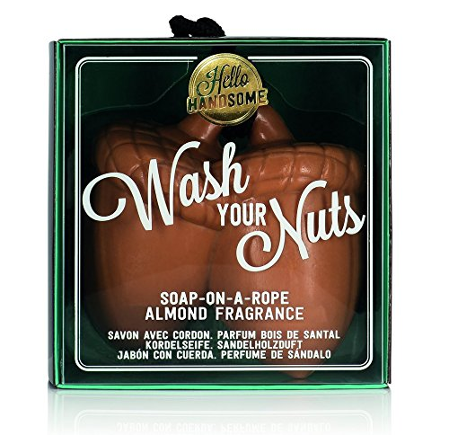 NPW Heren-zeep-bar – Hello Handsome Wash Your Nuts Soap On A Rope voor heren