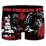 FREEGUN Star Wars Boxer WARS-microfibra-92% poliéster, 8% Elastano, Unitario Hombre T657-1, M
