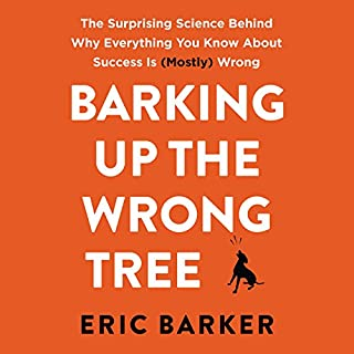 Barking up the Wrong Tree audiobook cover art
