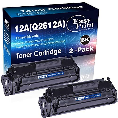 Cartucho de tóner compatible 12A Q2612A 2612A usado para impresora HP Laserjet Laserjet Pro 1010...
