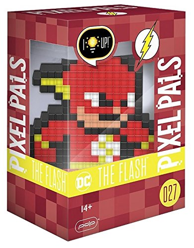 PDP Pixel Pals DC Comics The Flash Collectible Lighted Figure, 878-029-NA-FLS